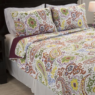 Trista Quilt Set Size: King