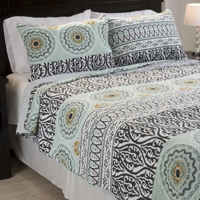 Muna Cotton Quilt Set Size: Full/Queen