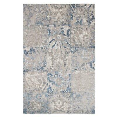 Beige/Blue Area Rug Rug Size: 8 x 10