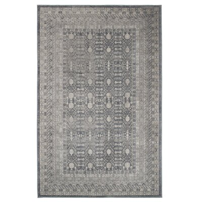 Gray/Brown Area Rug Rug Size: 5 x 77