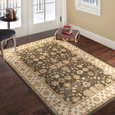 Brown Area Rug Rug Size: 33 x 5