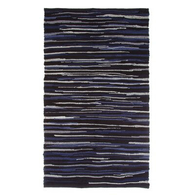 Sandeep Accent Hand-Woven Chocolate Area Rug Rug Size: Rectangle 19 x 210