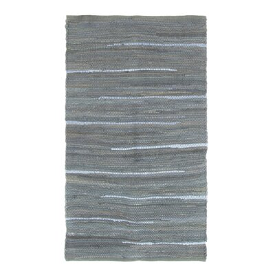 Sandeep Accent Hand-Woven Navy Area Rug Rug Size: Rectangle 23 x 39