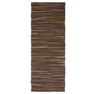 Sandeep Accent Hand-Woven Gray Area Rug Rug Size: Rectangle 23 x 39