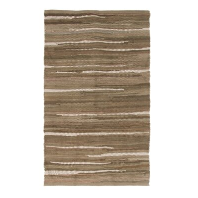 Sandeep Accent Hand-Woven Taupe Area Rug Rug Size: 19 x 210