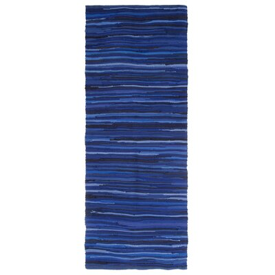 Sandeep Accent Hand-Woven Blue Area Rug Rug Size: Rectangle 2 x 5