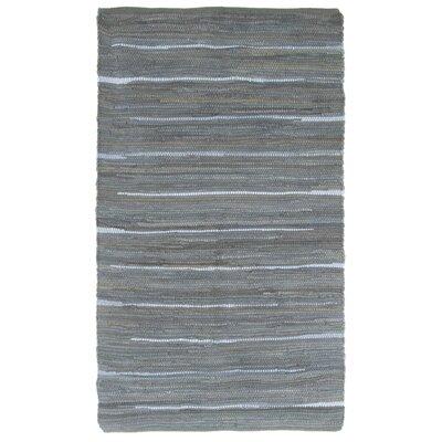 Sandeep Accent Hand-Woven Navy Area Rug Rug Size: 19 x 210