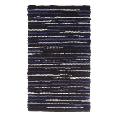 Sandeep Accent Hand-Woven Chocolate Area Rug Rug Size: Rectangle 23 x 39
