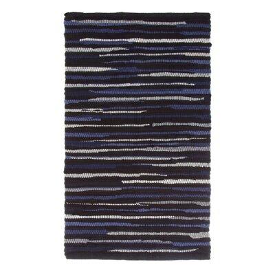 Sandeep Accent Hand-Woven Chocolate Area Rug Rug Size: 23 x 39