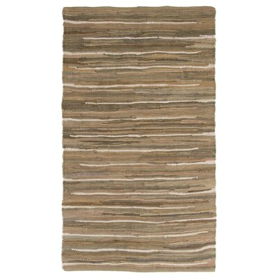 Sandeep Accent Hand-Woven Taupe Area Rug Rug Size: Rectangle 2 x 5