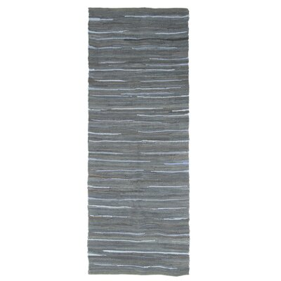 Sandeep Accent Hand-Woven Navy Area Rug Rug Size: Rectangle 2 x 5