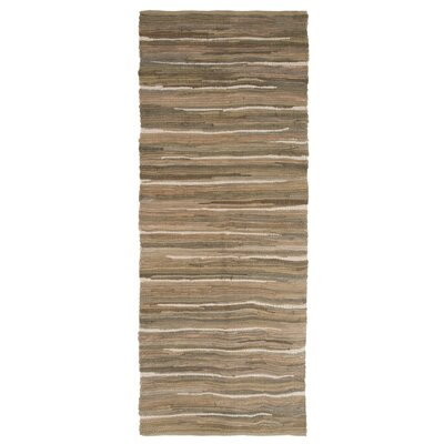 Sandeep Accent Hand-Woven Taupe Area Rug Rug Size: Rectangle 23 x 39