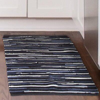 Chindi Tonal Hand-Woven Blue/Gray Area Rug Rug Size: 19 x 210