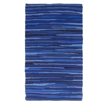 Chindi Tonal Hand Woven Blue Area Rug Rug Size: Rectangle 19 x 210