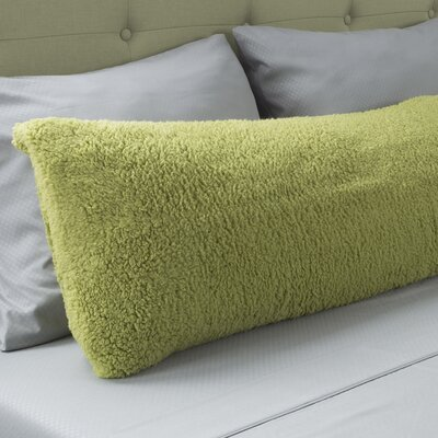 Ahmad Sherpa Pillowcase Color: Green