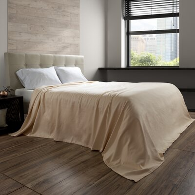 Basco Blanket Size: Full/Queen, Color: Cream