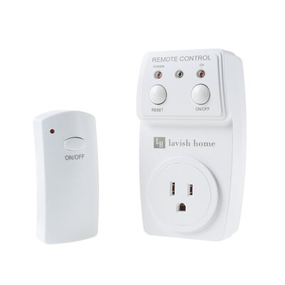 Wireless Electrical Wall Mount and Remote Combo Outlet