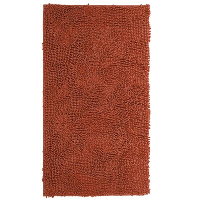 Duhaime High Pile Shag Hand-Woven Burnt/Orange Area Rug Rug Size: Rectangle 26 x 5