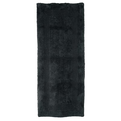 Curt Reversible Bath Rug Color: Black
