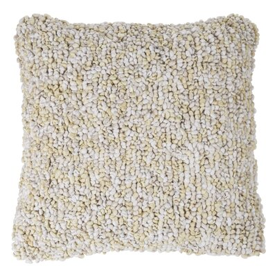 Ivey Textured Loop Throw Pillow Color: Beige