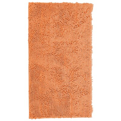 Ashling High Pile Shag Peach Area Rug Rug Size: Rectangle 19 X 3