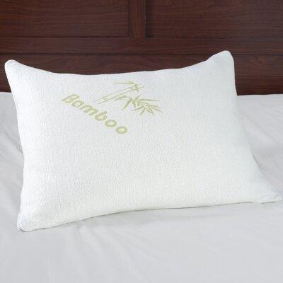 Rayon Memory Foam Standard Pillow