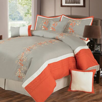 Branches 7 Piece Comforter Set Size: Queen