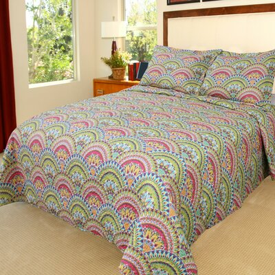 Melanie Quilt Set Size: King