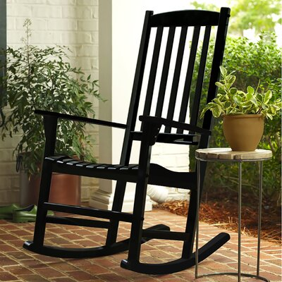 Sutherland Rocking Chair Finish: Black