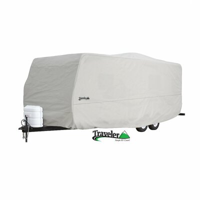 """Eevelle Traveler Travel Trailer Cover - Trailer Size: Fits 216"""" to 240"""" at Sears.com"""