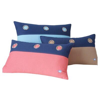 Grommet Lumbar Pillow Color: Offshore Green