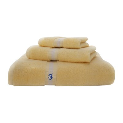 Skipjack Bath Towel Color: Moonlight Yellow