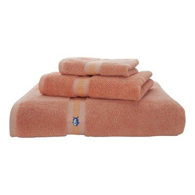 Skipjack Bath Towel Color: Sea Coral