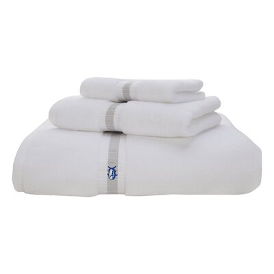 Skipjack Bath Towel Color: White