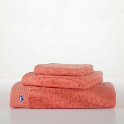 Performance Bath Towel Color: Coral