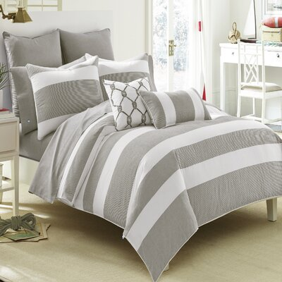 Breakwater Comforter Set Size: Full / Queen, Color: Grey