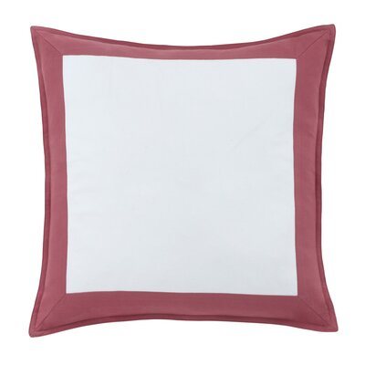 Skipjack Chino 100% Cotton Throw Pillow Color: Charleston Red