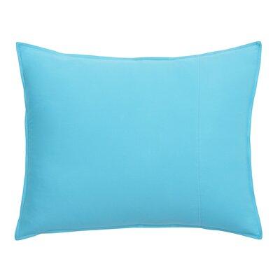 Skipjack Chino Sham Size: King, Color: Island Blue