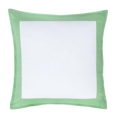 Skipjack Chino 100% Cotton Throw Pillow Color: Kiwi