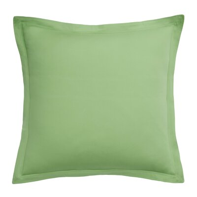 Skipjack Chino European Sham Color: Kiwi