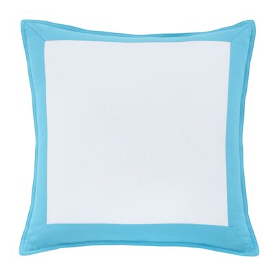 Skipjack Chino 100% Cotton Throw Pillow Color: Island Blue