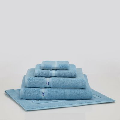 Skipjack Bath Sheet Color: Blue Topaz