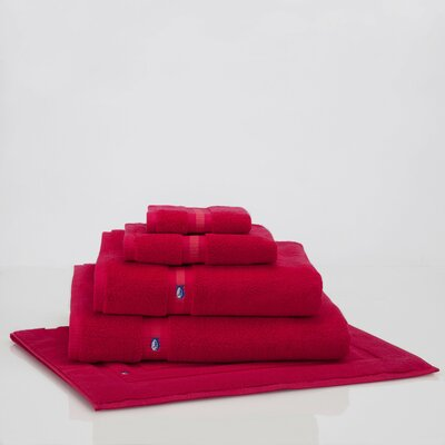 Ultimate Terry Bath Mat Color: Grenadine