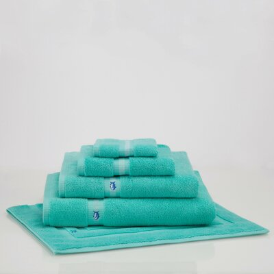 Skipjack Bath Sheet Color: Offshore Green