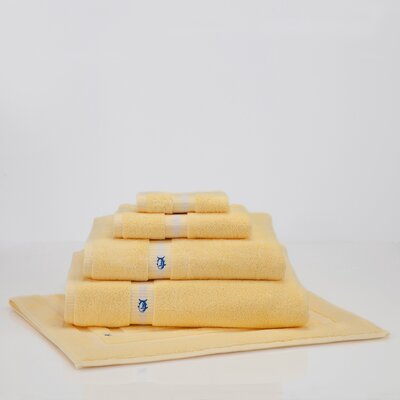 Skipjack Bath Towel Color: Moonlight Yellow