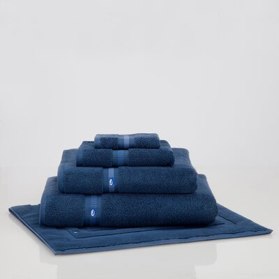 Skipjack Bath Sheet Color: Nautical Blue
