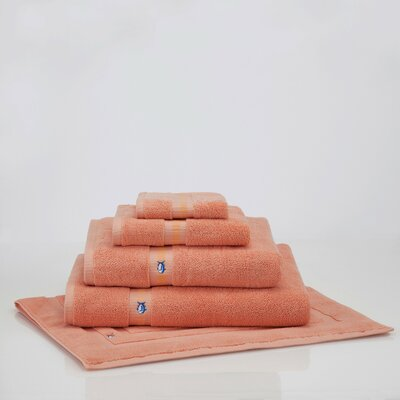 Ultimate Terry Bath Mat Color: Sea Coral