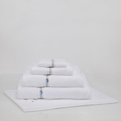 Ultimate Terry Bath Mat Color: White