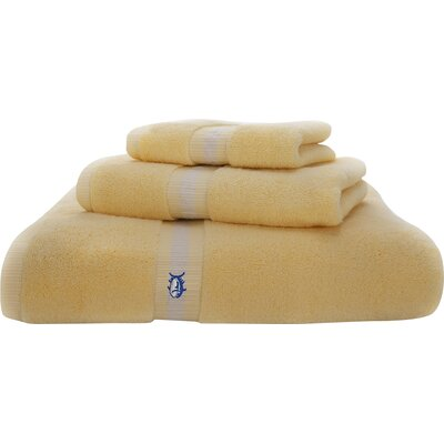 Skipjack Hand Towel Color: Moonlight Yellow