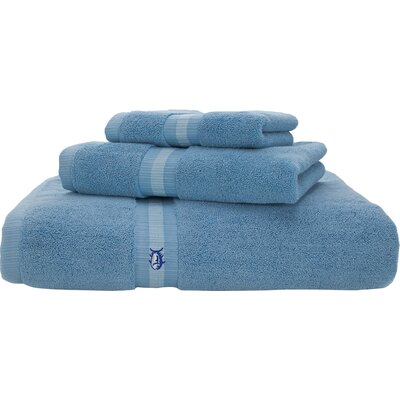 Skipjack Hand Towel Color: Blue Topaz